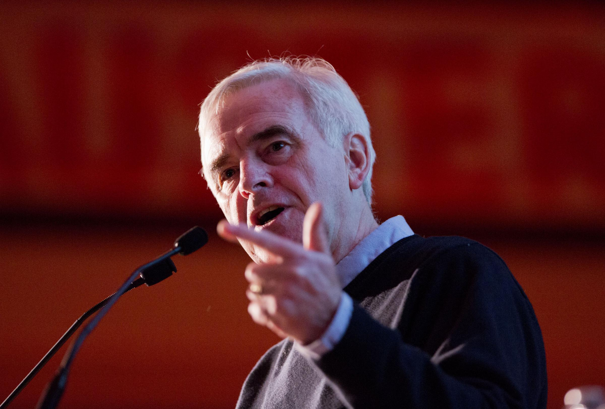 Pension promise: Labour's McDonnell insists party will stick to triple lock pledge amid Brexit uncertainty