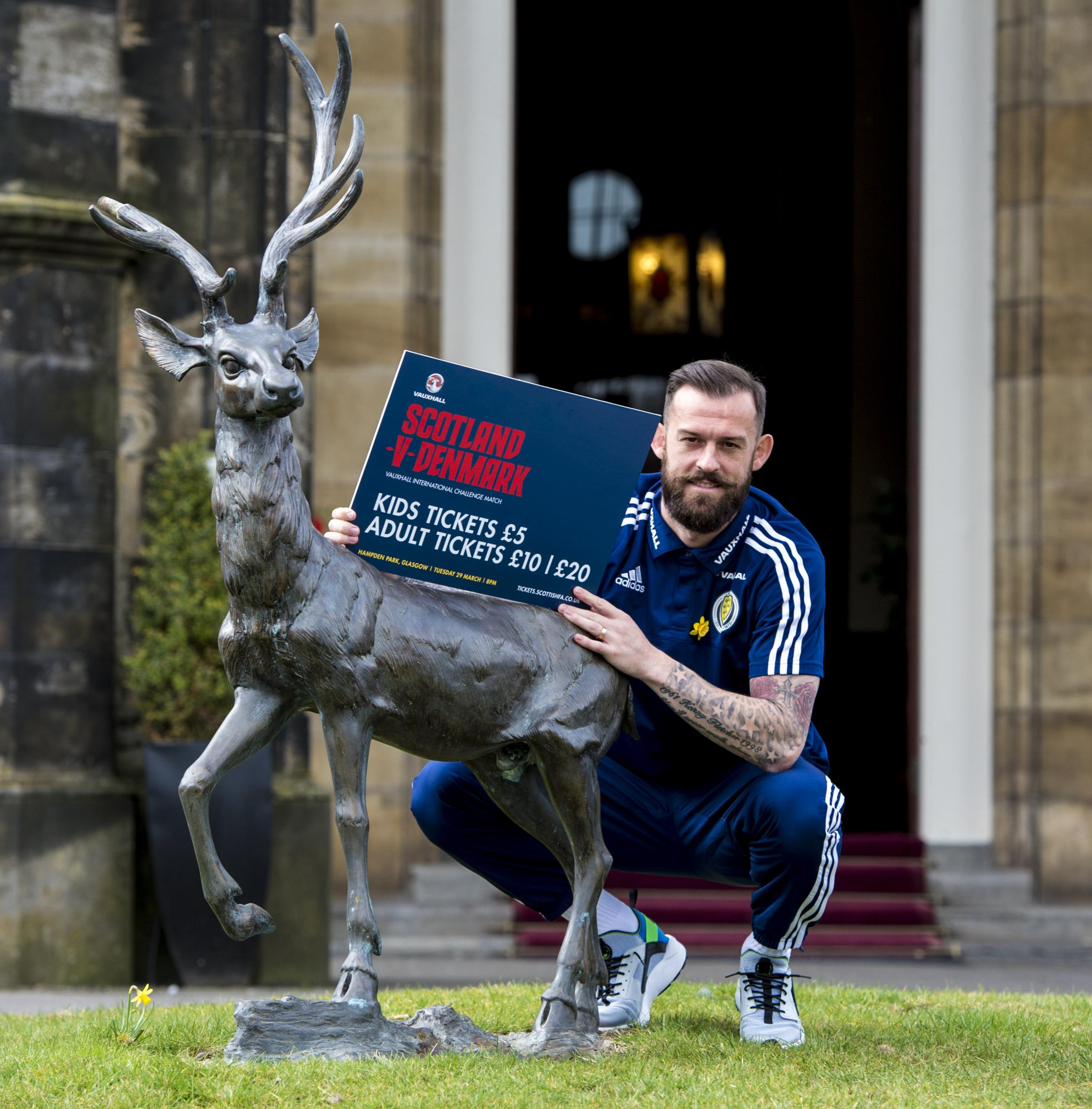 Scotland's Steven Fletcher has learned from past mistakes