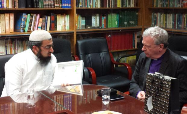 Herald Scotland: Imam Habib meeting moderator of Church of Scotland