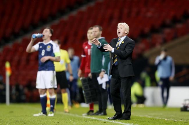 Gordon Strachan is hoping the Hampden pitch will get better with time