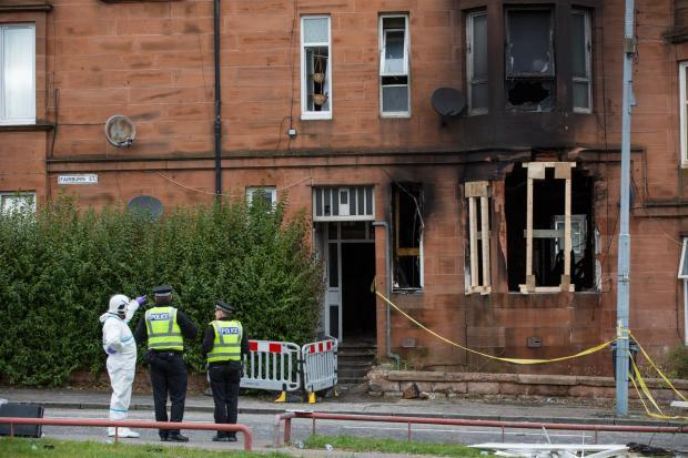 Super-strength cannabis linked to Glasgow tenement fire
