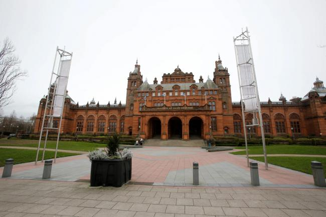 Kelvingrove Art Gallery and Museum. Picture Martin Shields for Herald & Times.
