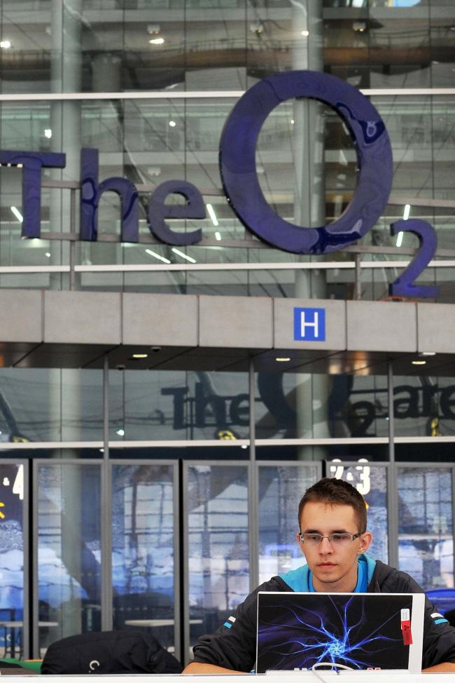 Mobile operator O2, which runs The O2 Arena in London, is said to be the subject of a looming bid battle