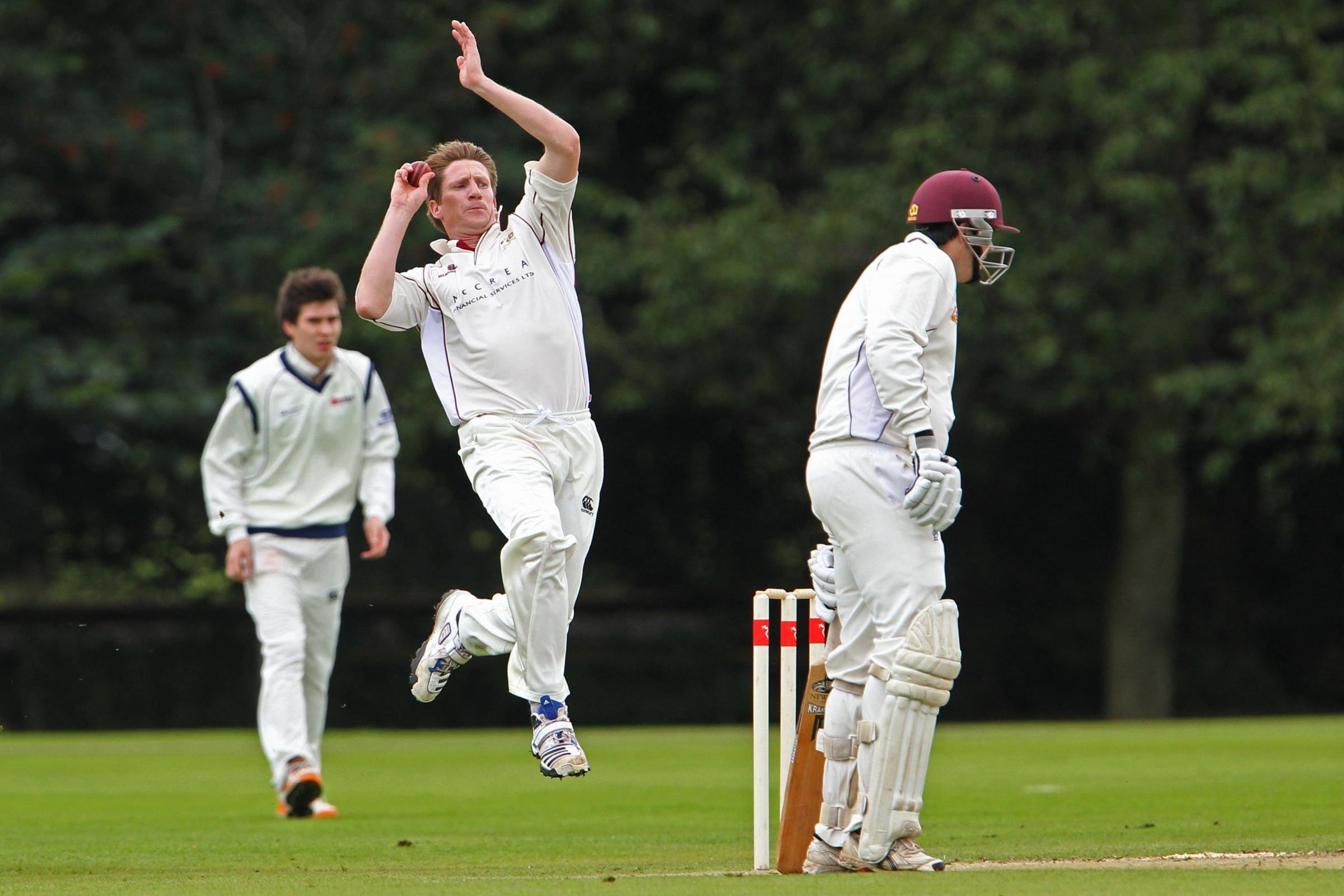 John Blain, seen here bowling for West of Scotland, is the new head coach of Eastern Knights. Pic: Stewart Attwood