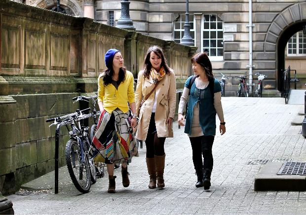 Scottish universities are seeking to increase their income from former students as public funding becomes more squeezed