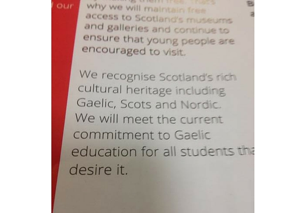 Labour discovers a new Scottish language in its manifesto