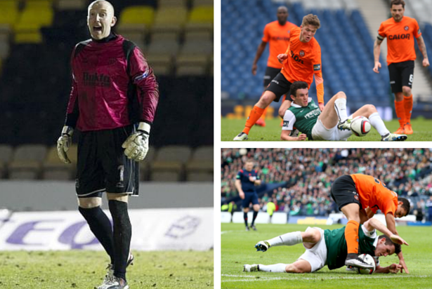 Former Dundee goalkeeper Derek Soutar was relieved of his United coaching duties last year