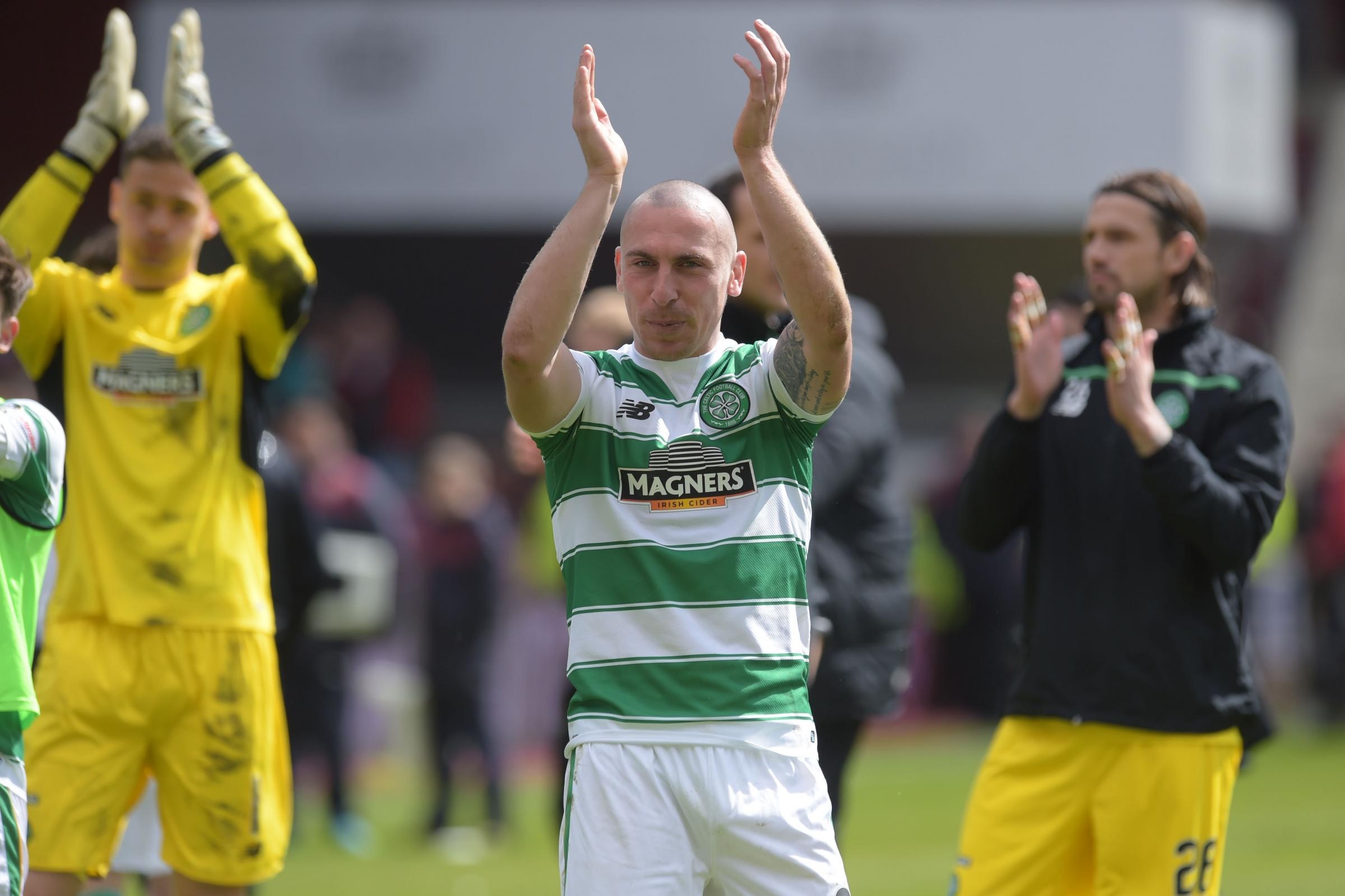 Tynecastle on Saturday was Scott Brown's last game of the season