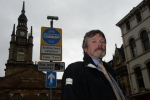 Glasgow bus gate camera 'illegal', says CCTV expert