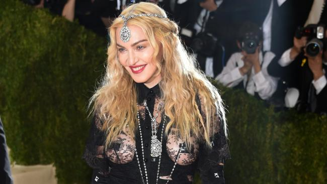 Madonna's 8 most outrageous red carpet moments