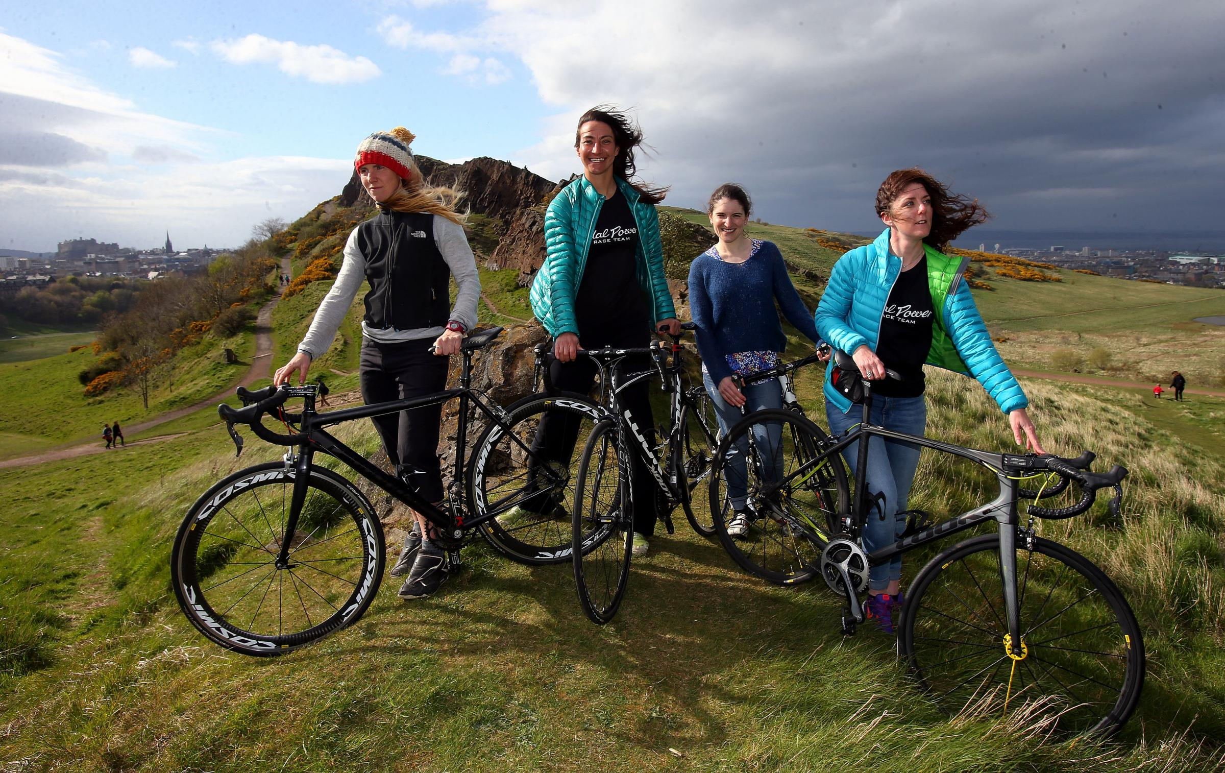 Members of the Adventure Syndicate team, from left, Lee Craigie, Joanne Thom, Zara Mair and Anne Ewing.