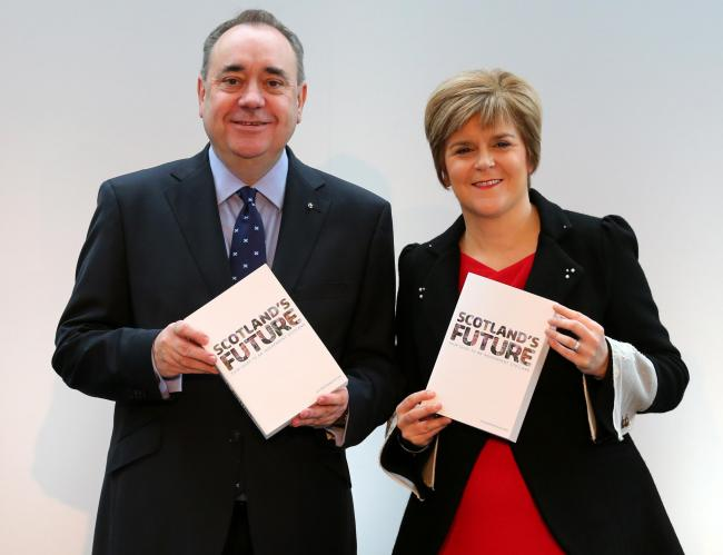 Nicola Sturgeon confirms intention to relaunch SNP's Independence campaign