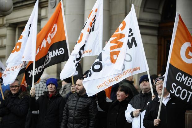 The GMB union has launched a fresh wave of equal pay claims against Glasgow City Council