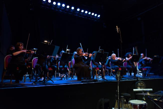 BBC SSO performs Catherine Kontz's 'Fruitmarket' at Tectonics Glasgow 2016