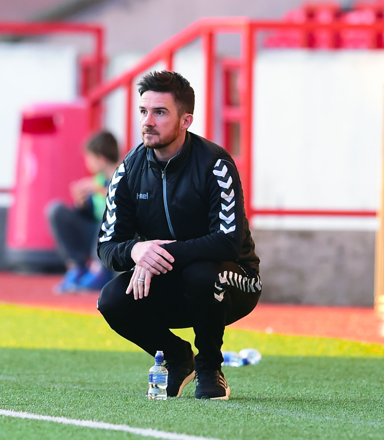 Clyde manager Barry Ferguson