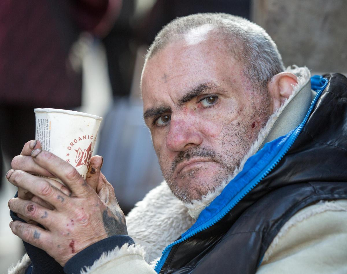 Lonely, cold and cruel: the life of a beggar in Scotland