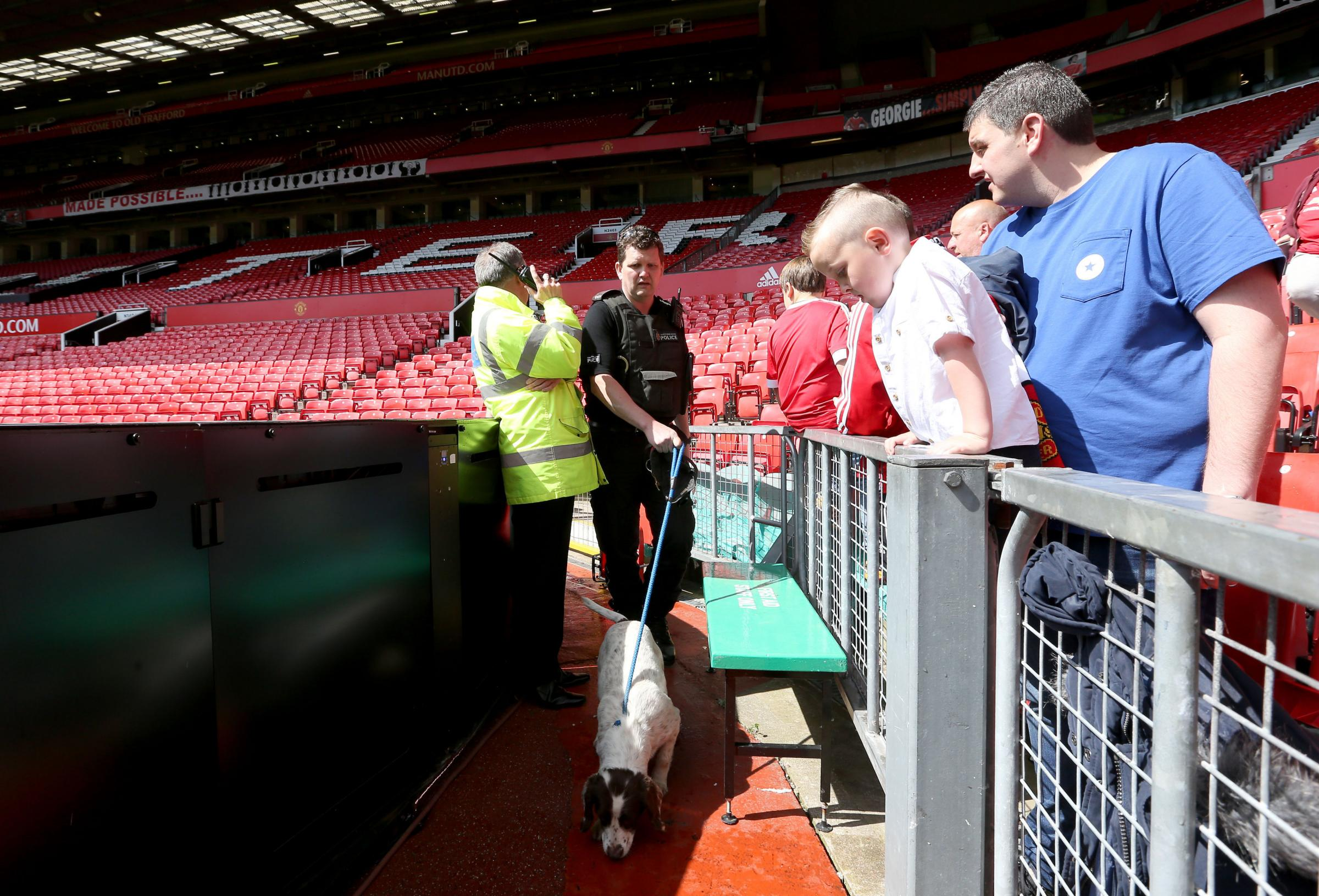 Thousands evacuated as Man Utd's game with Bournemouth is abandoned amid security concerns (From Herald Scotland)