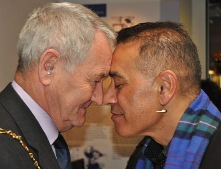 Maori skull repatriated after spending more than a century in allan wright rubbing noses with te herekiekie herewini m4hsunfo