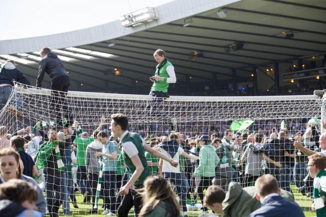 Hibs and Rangers in the clear over Cup Final disorder