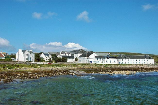 Bruichladdich distillery on Islay is owned by French drinks business Remy Cointreau
