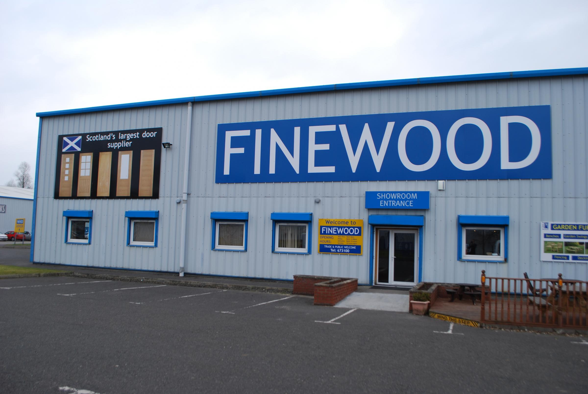 Falkirk door businessm Finewood is set for expansion. & Falkirk\u0027s Finewood ready to open doors to expansion | HeraldScotland