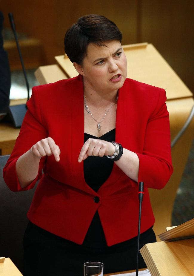 Scottish Conservative leader Ruth Davidson MSP