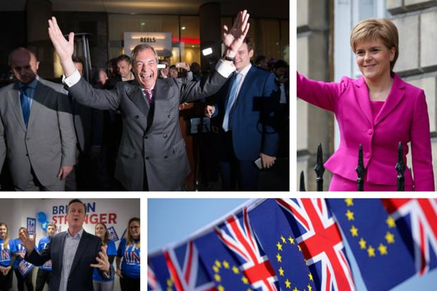 Britain votes to leave European Union despite Scotland wanting to Remain