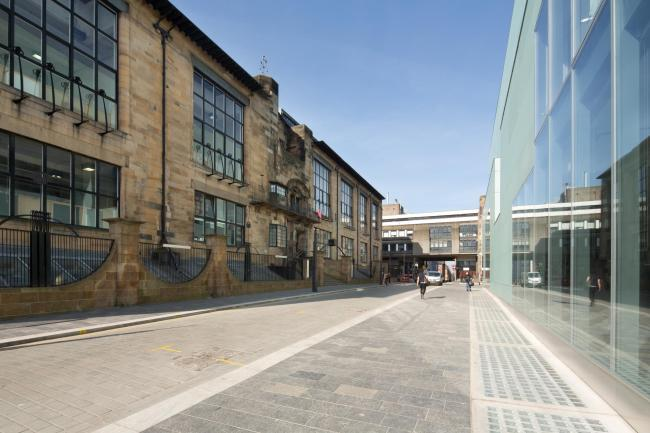 Mackintosh Building at the Glasgow School of Art