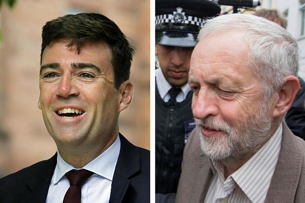Andy Burnham mocked by Tories for refusal to resign from shadow cabinet