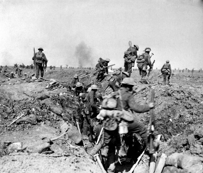 The Battle of Somme.