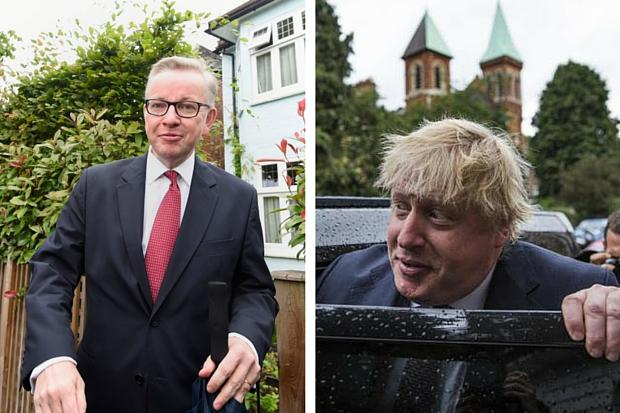 Michael Gove urged to quit Tory leadership race after removing Boris Johnson from running