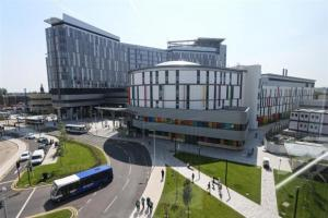 Patient trolleys contaminated with blood and faeces at Glasgow super-hospital