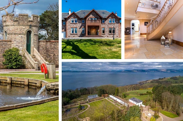 Scotlands most luxurious homes Largs Knock House and