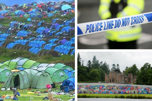 Police investigate rape of teenage girl at T in the Park campsite