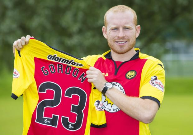 HeraldScotland: Ambitious: Ziggy Gordon said that Partick Thistle's aspirations as a club played a huge part in his decision to join.