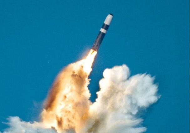 A Trident Ii, Or D-5 Missile, being launched