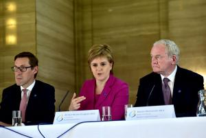 Herald Scotland: Brexit return to watchtowers on Irish border must not be allowed, leaders warn