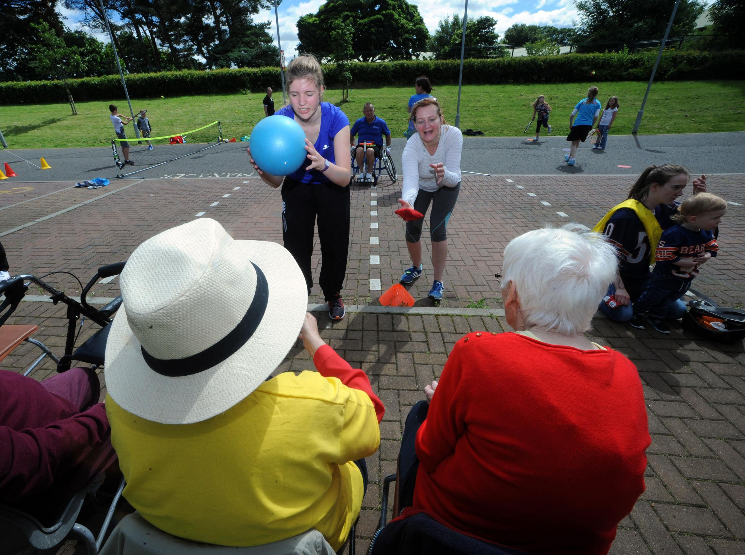 Straight perm edinburgh - Pensioners Go For Gold At Edinburgh S First Ever Care Home Games At Inchview Care Home Heraldscotland