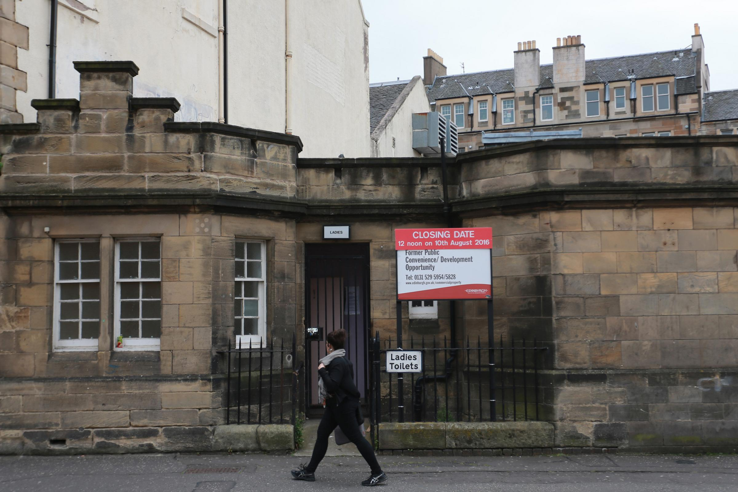 Well, nab yourself a new home in an Edinburgh public toilet for just £200k
