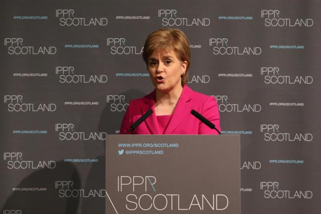 Scotland's First Minister Nicola Sturgeon (Andrew Milligan/PA Wire)