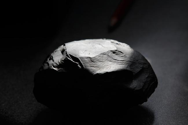 A lump of shale rock Picture: Matthew Lloyd/Getty Images)
