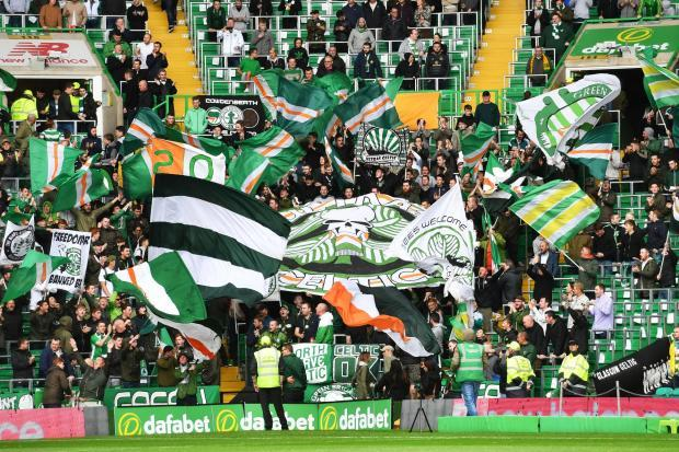 Celtic fans have been taking Palestinian flags to games for years, including the tie against Hapoel Tel Aviv in 2009