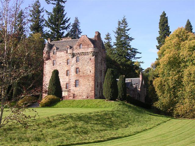 Castle Leod in Strathpeffer, Easter Ross, is widely thought to be the inspiration for the fictional 'Castle Leoch' in the Diana Gabaldon novels, which have been transformed into a TV drama, starring Sam Heughan.