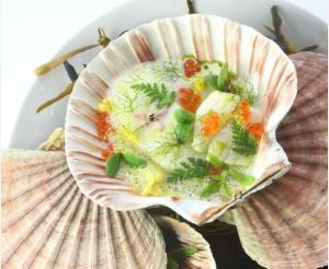 Herald Scotland: Recipe of the Day: Baked Scallops with Citrus and Fennel