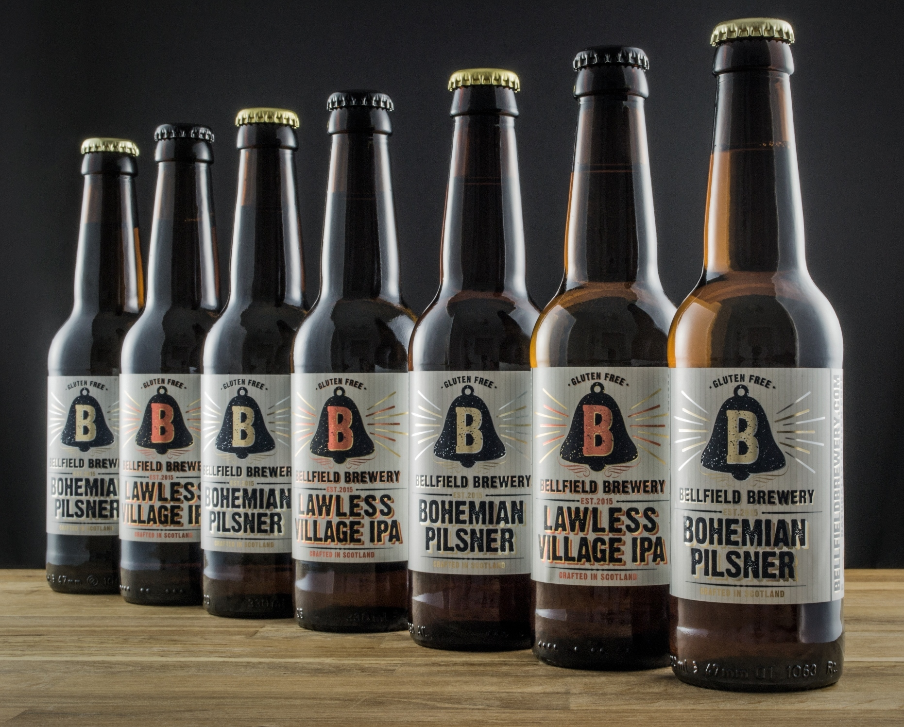 Bellfield has secured national distribution for its gluten-free beers.