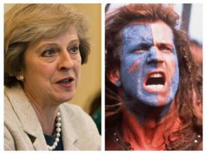 Herald Scotland: The Midge: Revealed – Theresa May's Braveheart link