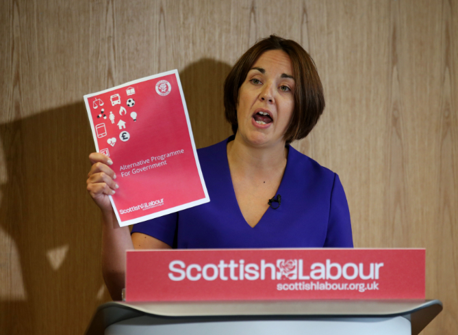 Kezia Dugdale brands Tories 'Scotland's Brexit party' as she launches attack on leader Ruth Davidson