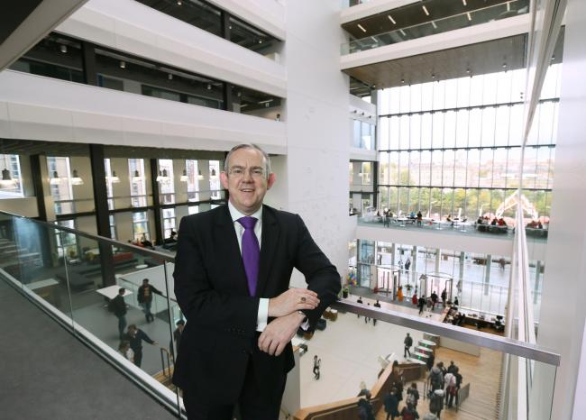Paul Little, principal of City of Glasgow College, who is the highest paid college principal in Scotland