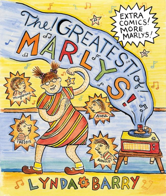 Graphic Content: Our Graphic Novel of the Month is Lynda Barry's The Greatest of Marlys