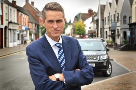 HeraldScotland: Kinver's MP Gavin Williamson, the Government's new Chief Whip. Pic - Phil Loach
